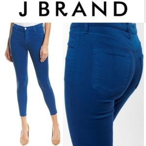 J.BRAND Alana High Rise Cropped Skinny Jeans
